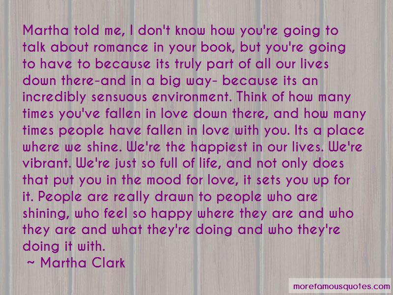 Martha Clark Quotes
