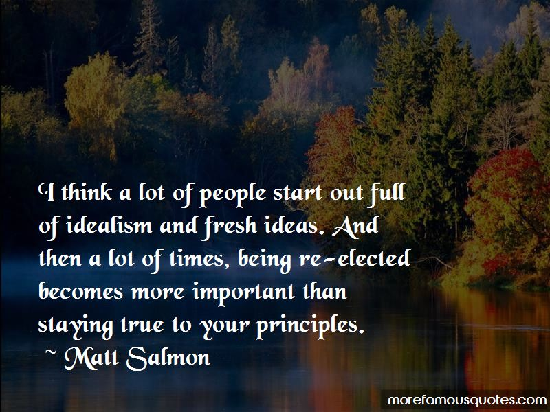 Matt Salmon Quotes