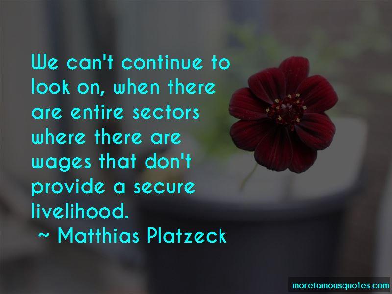 Matthias Platzeck Quotes
