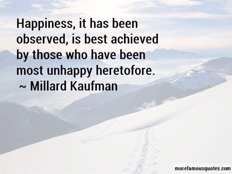 Millard Kaufman Quotes