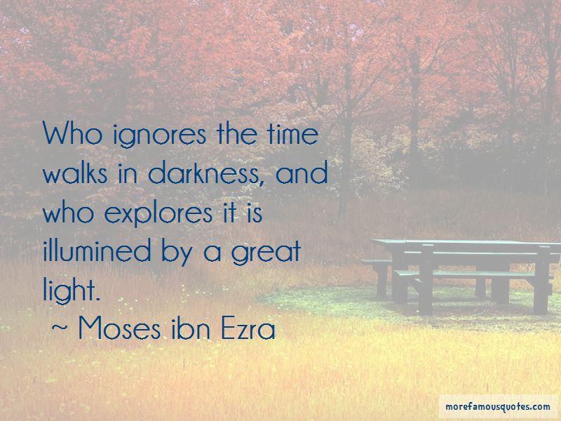Moses Ibn Ezra Quotes