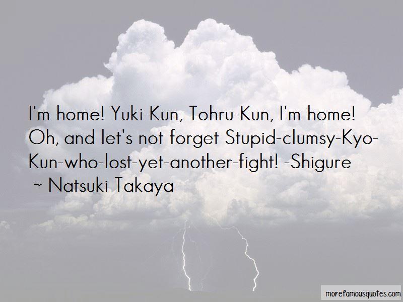 Natsuki Takaya Quotes Pictures 2