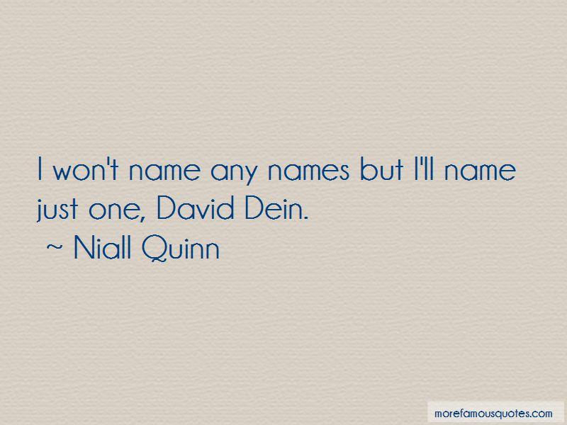 Niall Quinn Quotes