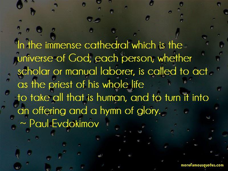 Paul Evdokimov Quotes