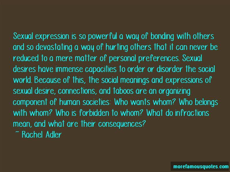 Rachel Adler Quotes