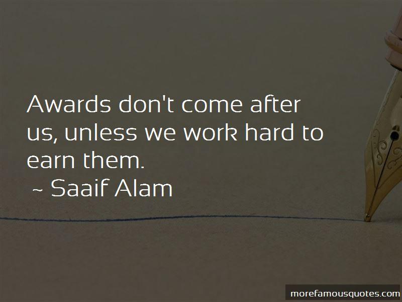 Saaif Alam Quotes