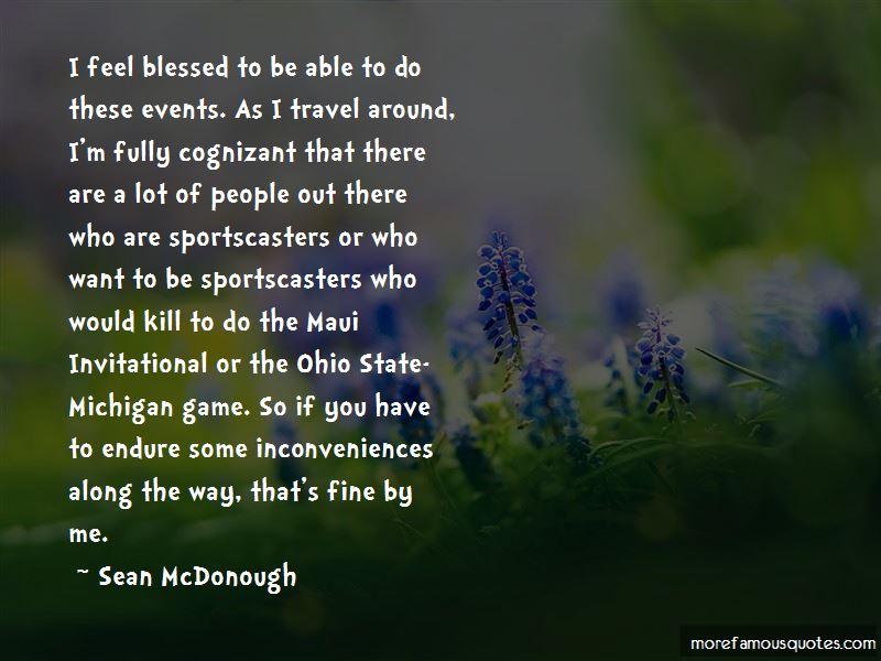 Sean McDonough Quotes
