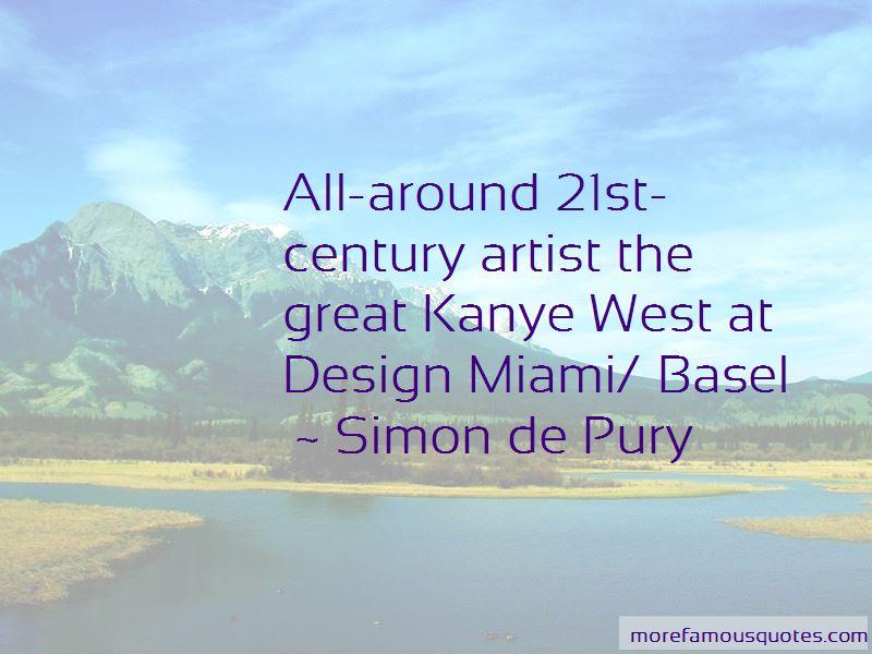 Simon De Pury Quotes Pictures 4