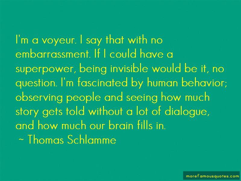 Thomas Schlamme Quotes