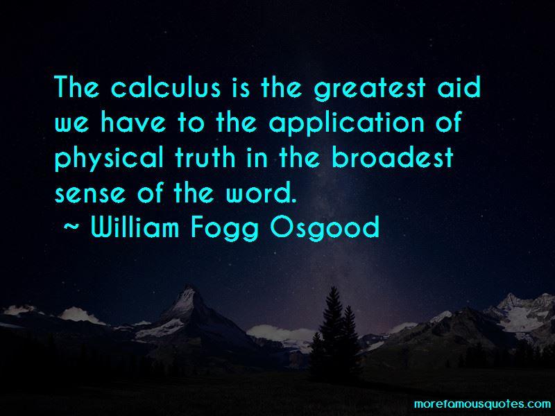 William Fogg Osgood Quotes Pictures 2