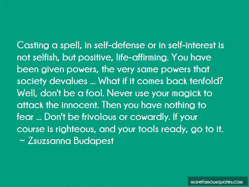 Zsuzsanna Budapest Quotes Pictures 2