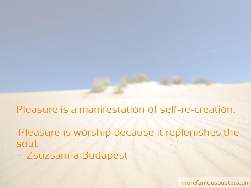 Zsuzsanna Budapest Quotes