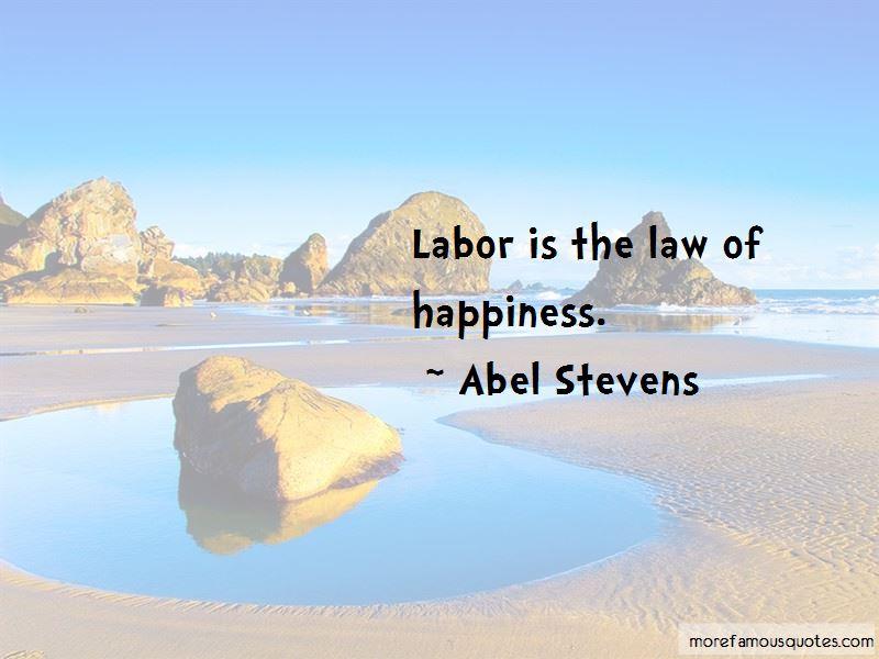 Abel Stevens Quotes Pictures 2