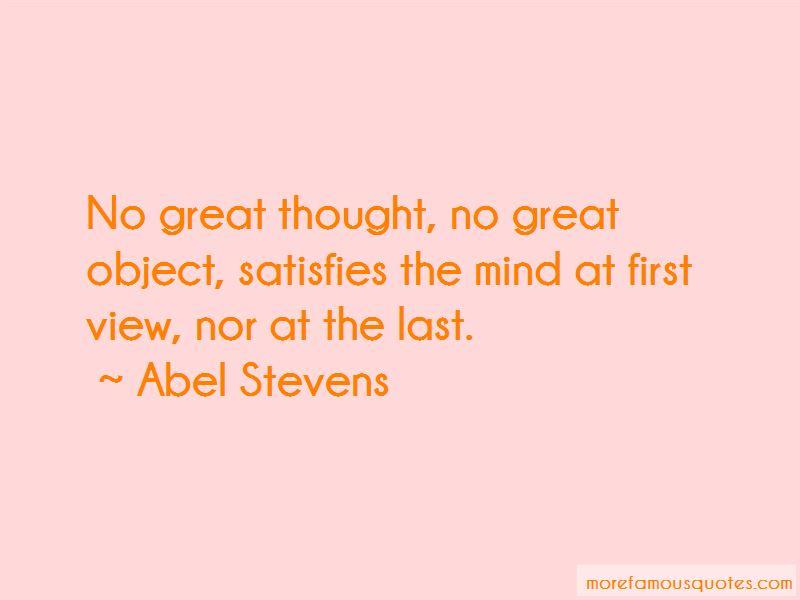 Abel Stevens Quotes