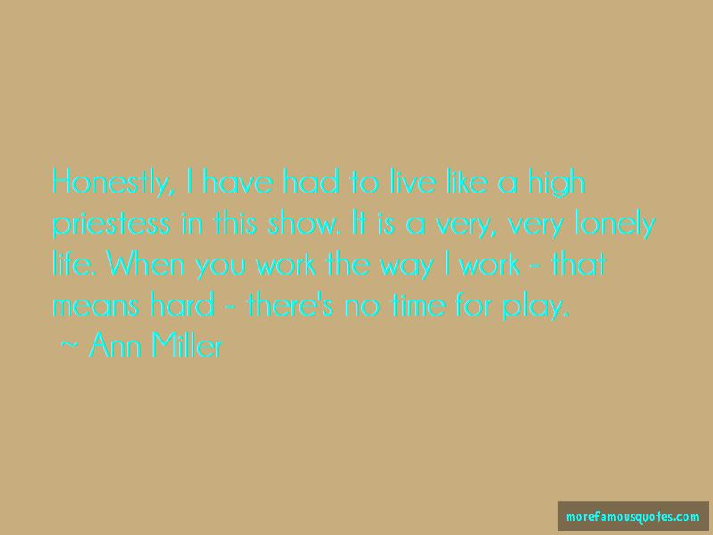 Ann Miller Quotes Pictures 2