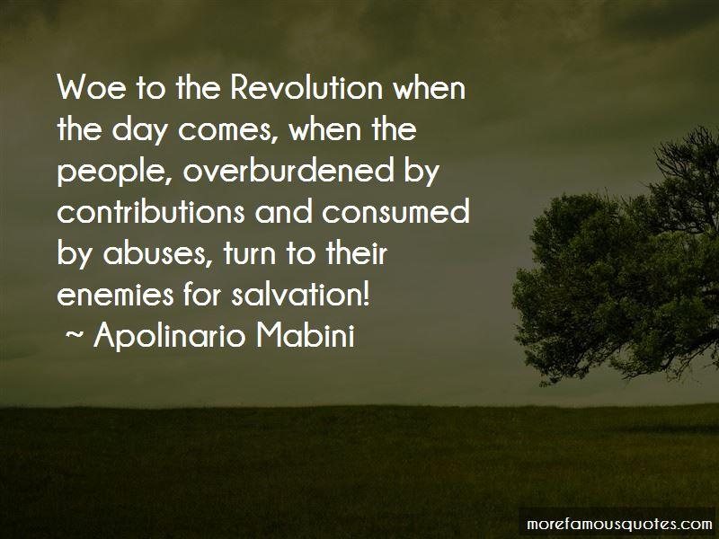 Apolinario Mabini Quotes