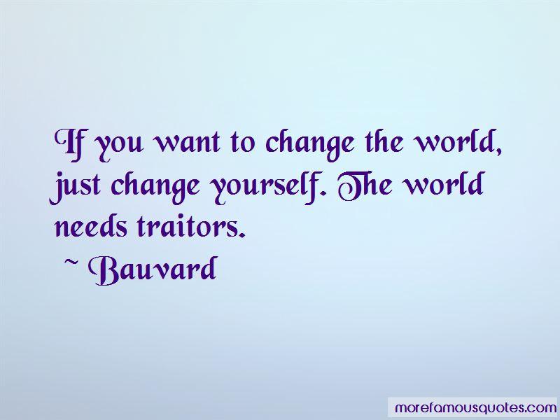 Bauvard Quotes