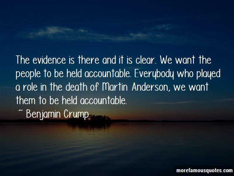 Benjamin Crump Quotes Pictures 4