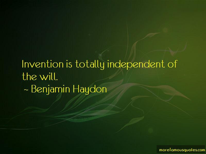Benjamin Haydon Quotes Pictures 3