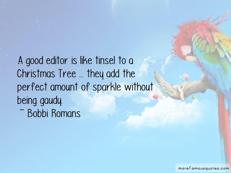 Bobbi Romans Quotes