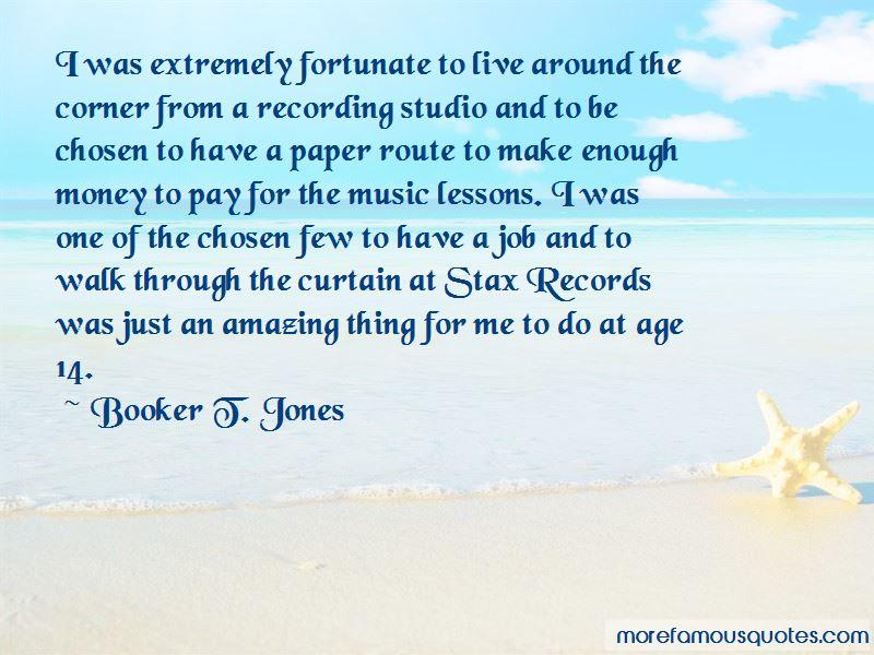Booker T. Jones Quotes