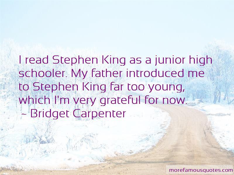 Bridget Carpenter Quotes Pictures 4