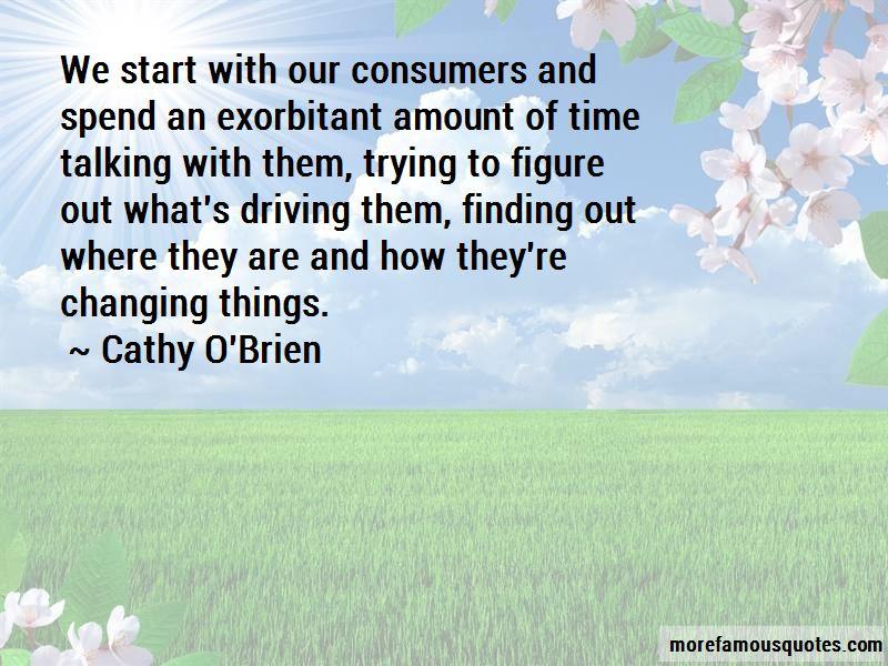 Cathy O'Brien Quotes