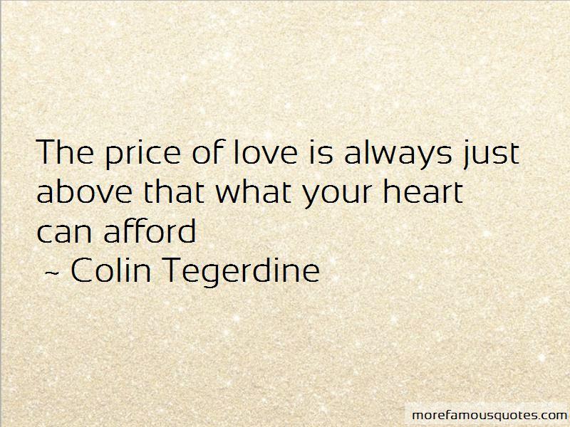 Colin Tegerdine Quotes Pictures 2