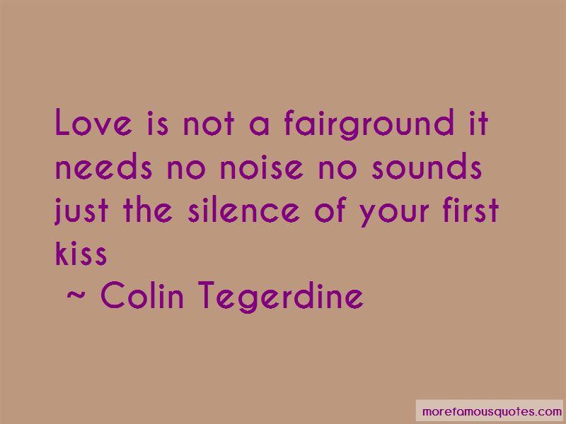 Colin Tegerdine Quotes Pictures 4