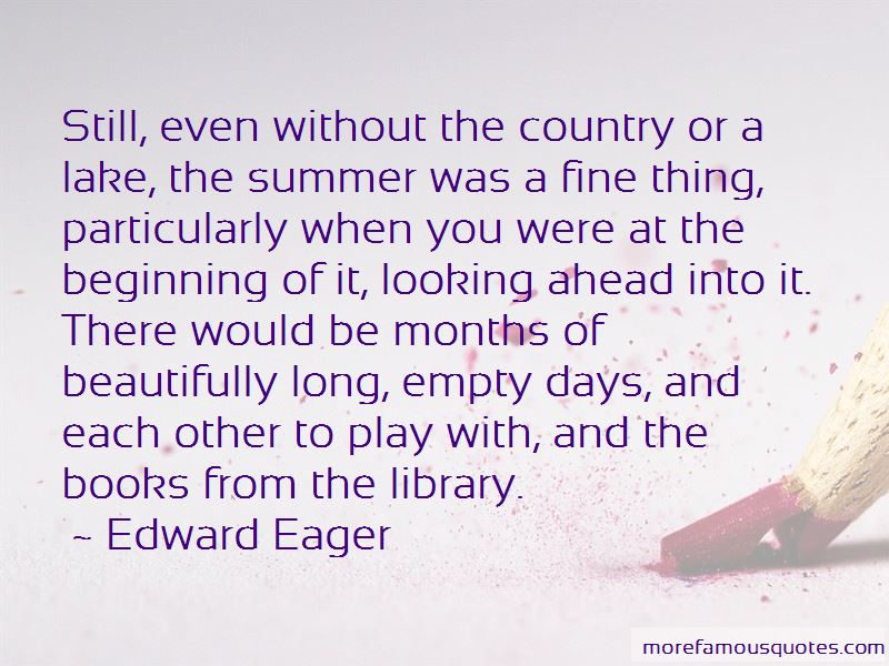 Edward Eager Quotes