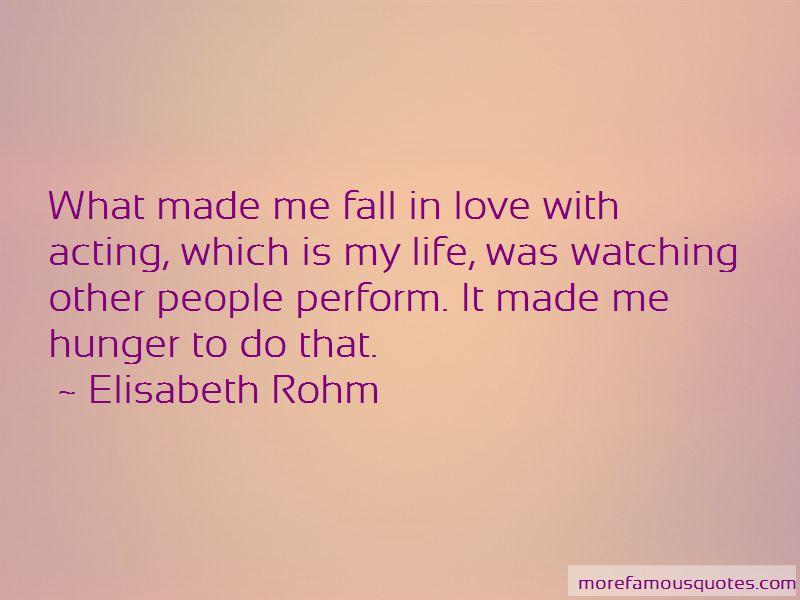 Elisabeth Rohm Quotes Pictures 2