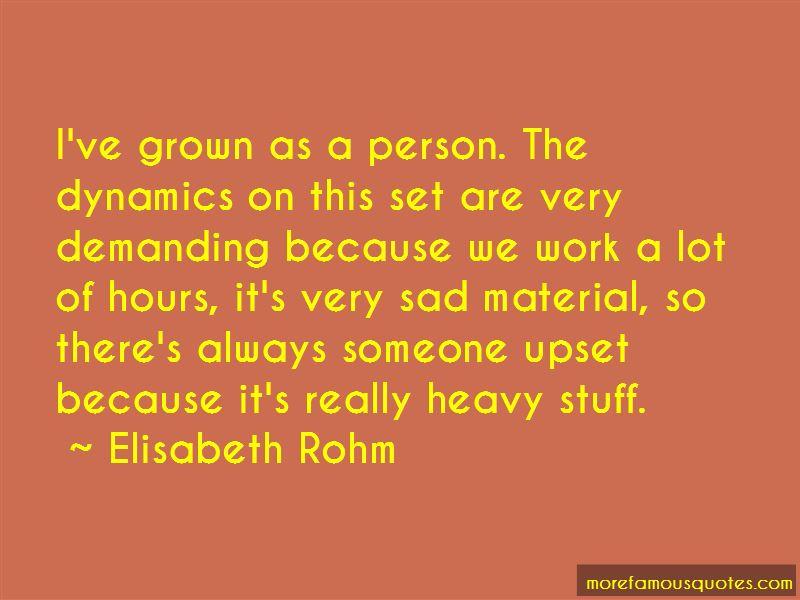 Elisabeth Rohm Quotes Pictures 3