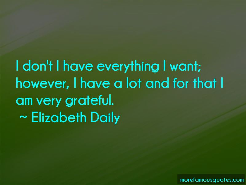 Elizabeth Daily Quotes Pictures 4
