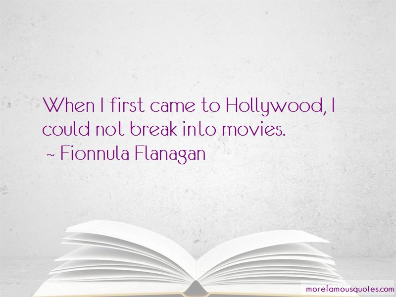 Fionnula Flanagan Quotes