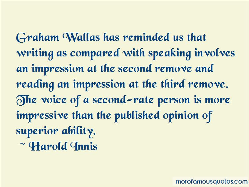 Harold Innis Quotes