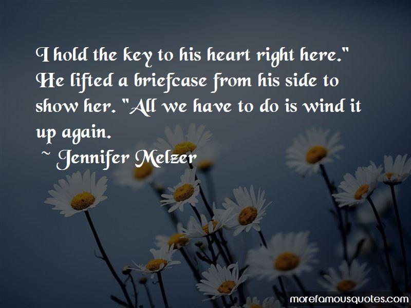 Jennifer Melzer Quotes Pictures 3