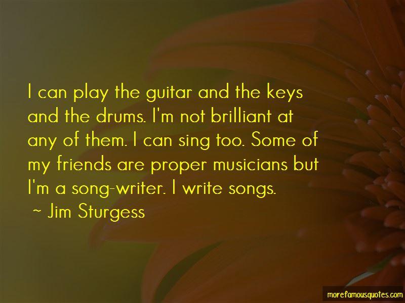 Jim Sturgess Quotes