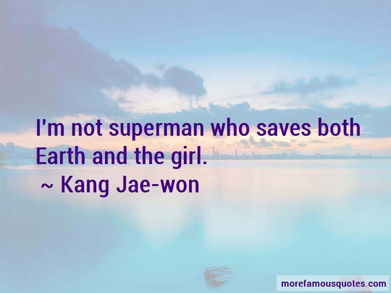 Kang Jae-won Quotes