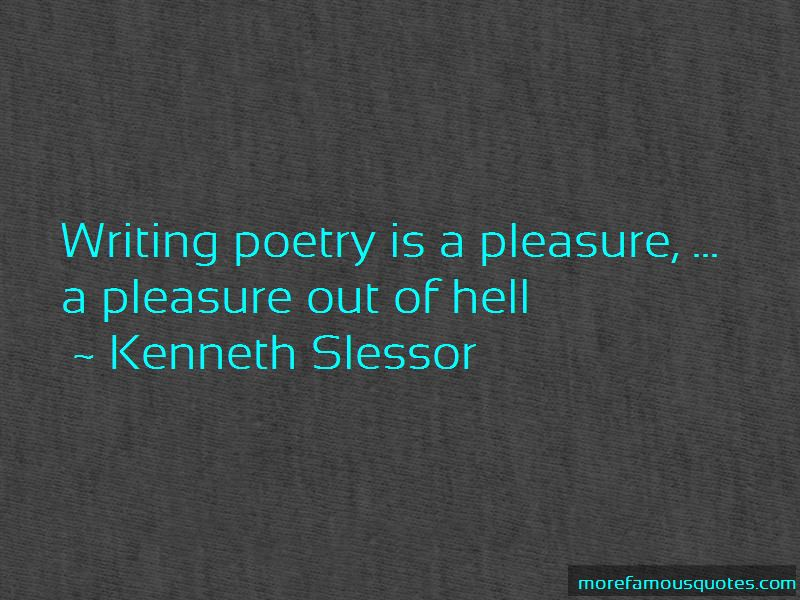 Kenneth Slessor Quotes