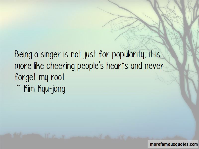 Kim Kyu-jong Quotes Pictures 2