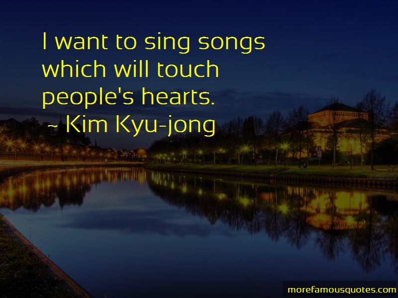 Kim Kyu-jong Quotes Pictures 4