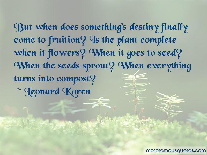 Leonard Koren Quotes