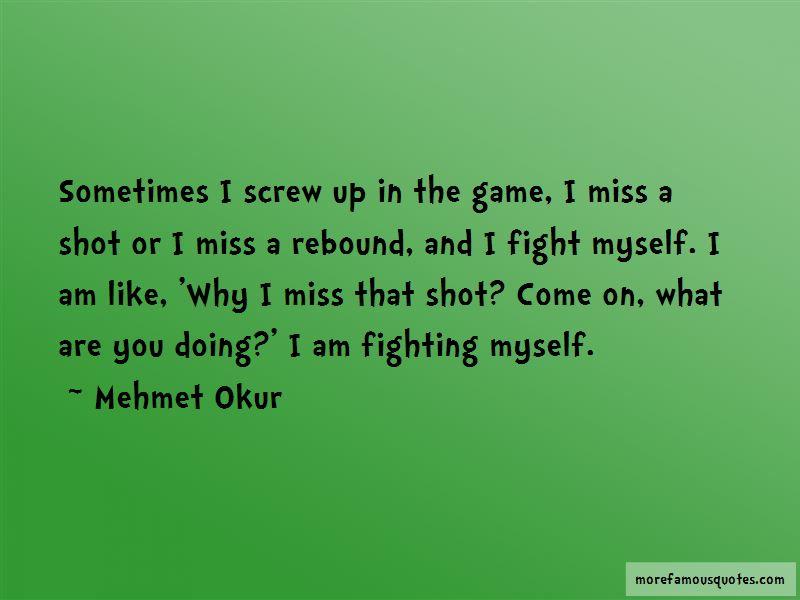 Mehmet Okur Quotes Pictures 2
