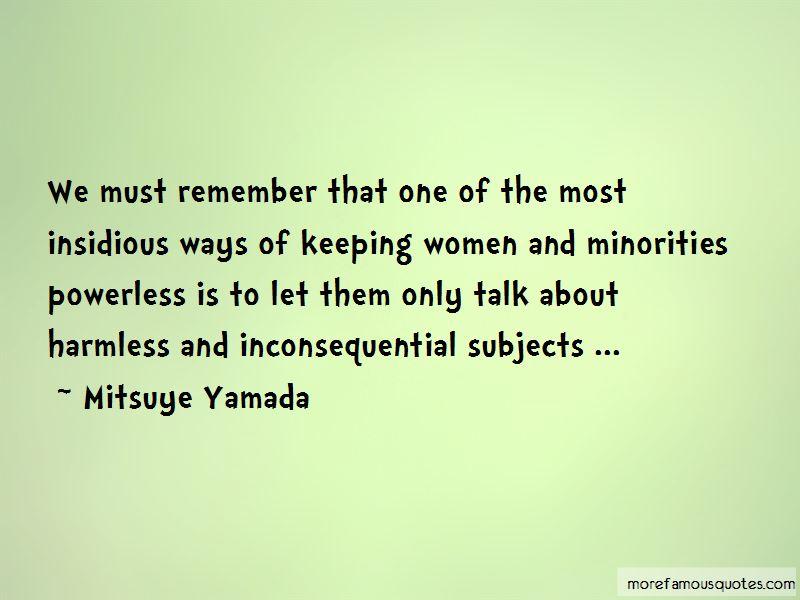 Mitsuye Yamada Quotes Pictures 2