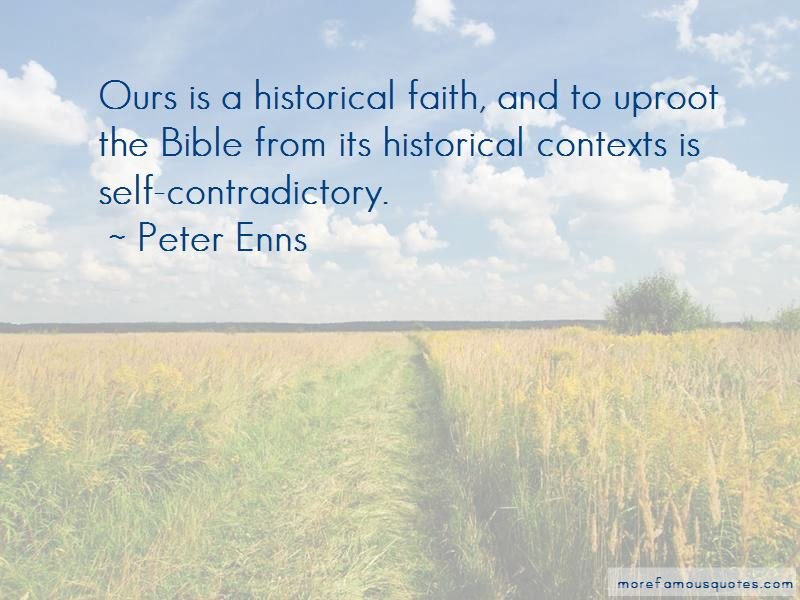 Peter Enns Quotes
