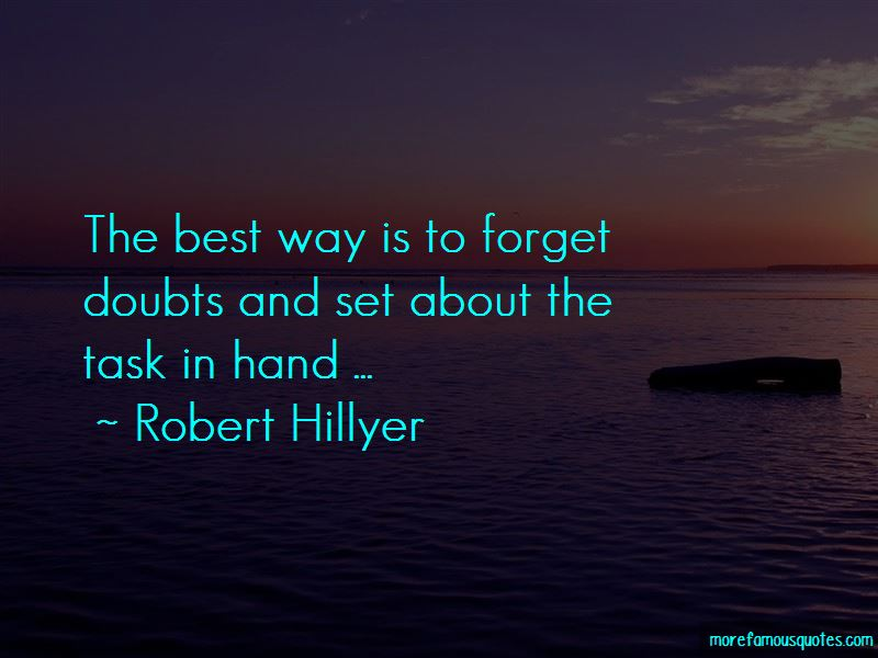 Robert Hillyer Quotes Pictures 2
