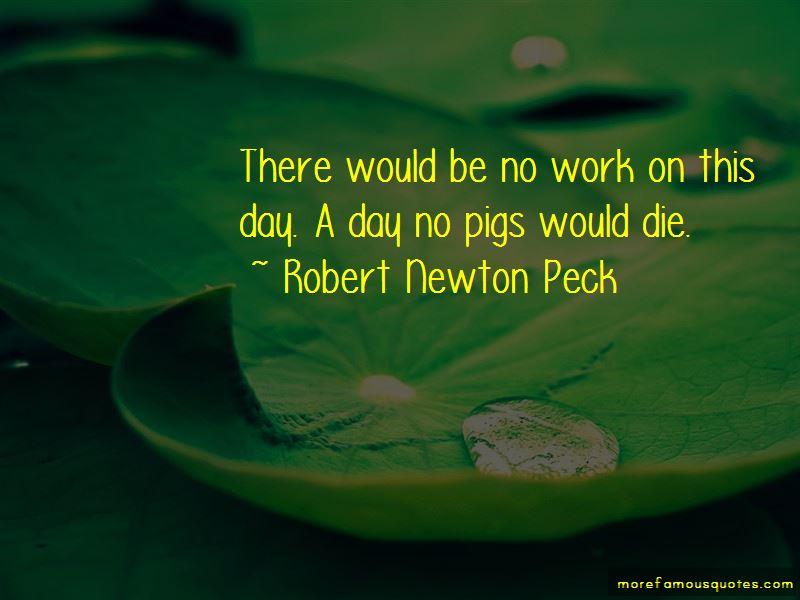 Robert Newton Peck Quotes