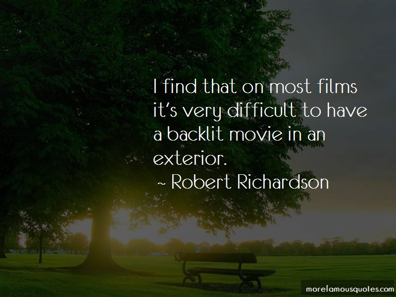 Robert Richardson Quotes