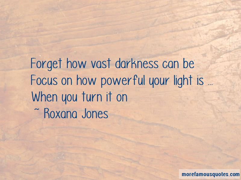 Roxana Jones Quotes
