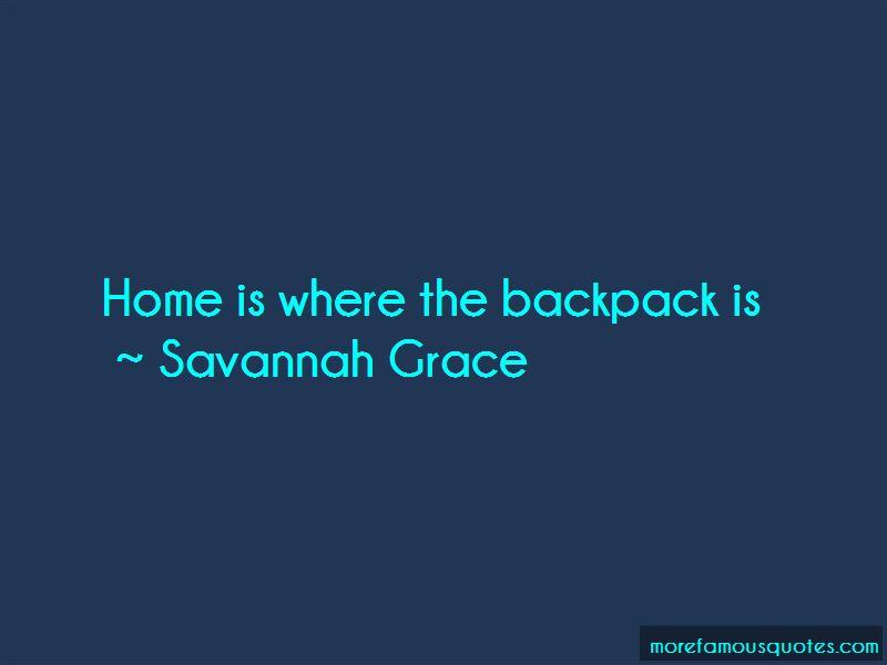 Savannah Grace Quotes